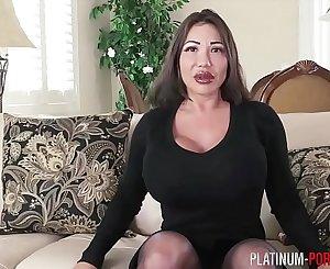 Ava Devine hypnotized into anal invasion masturbation