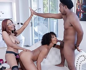 FILTHY FAMILY - Misty Stone, Jenna Foxx, Xavier Miller, and Jack Blake Keep It In The Family