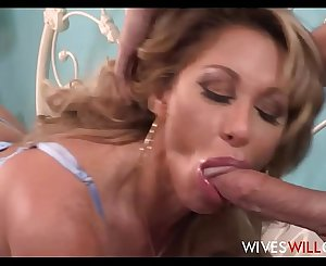 Huge Tits MILF Step Mom Farrah Dahl Has Hook-up With Stepson While His Dad Watches On Security Webcam