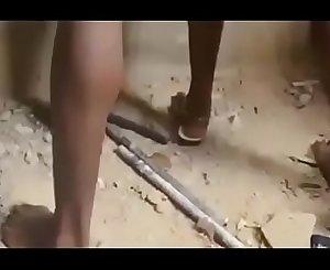 African nigerian ghetto boys gangbang a virgin  / part 1