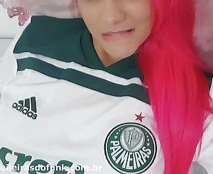 Débora Fantine - Gostosa no Brasileirão - Homenagem ao Líder Palmeiras