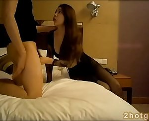 Real Chinese amateur slut fucking in hotel