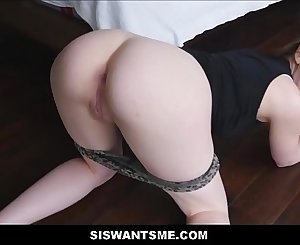 Cute Teen Stepsister With A Big Ass Chloe Scott Wants Her Stepbrothers Big Hard-on POV