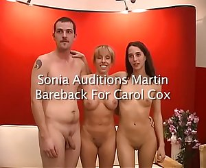 Sonia Sux Auditions A Fresh Youthfull Guy For Carol Cox