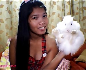 HD 17 week pregnant heather deep thai teen surprises Donny Long with the best blowjob in the world