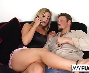 Avy Scott, Alexis, and Van Damage all get some intense orgasms