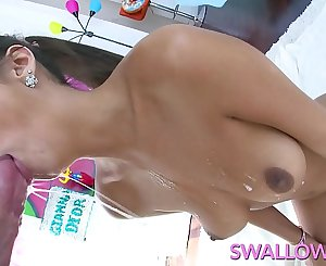 SWALLOWED Gianna Dior sloppy deepthroat suck off