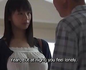 Japanese big tits fucked really hard
