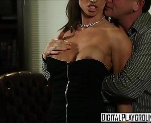 Dirty assistant (Franceska Jaimes) fucks her boss on his desk - Digital Playground