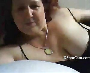 Mature Chubby Milf Masturbating On Webcam - gspotcam.com