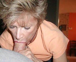 mature blow job